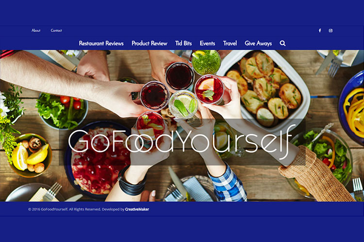 gofoodyourself website
