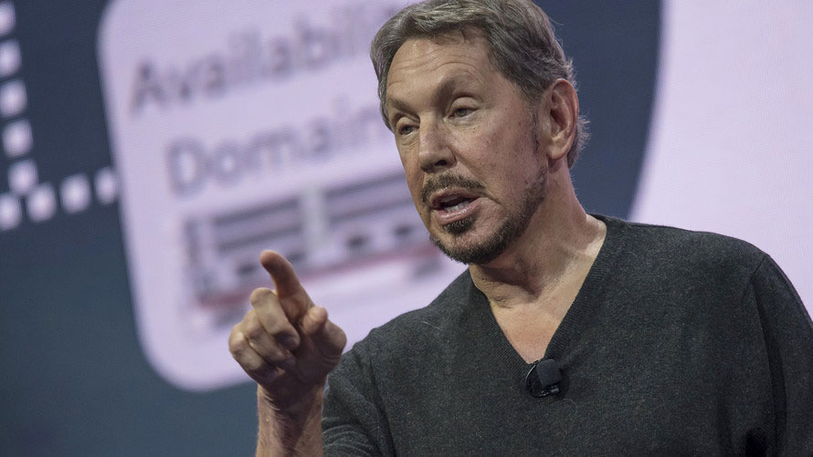 Oracle's Larry Ellison has a new target: Amazon