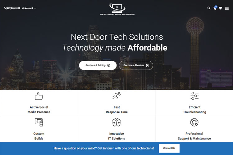 live-site---Nxdt-Solutions